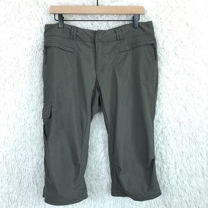 REI | Brown Nylon Hiking Capris Size 10
